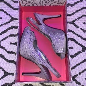 Lulu Townsend Slingback Embellished Heels